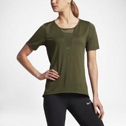 Женская беговая футболка с коротким рукавом Nike Zonal Cooling Relay MeshЖенская беговая футболка с коротким рукавом Nike Zonal Cooling Relay Mesh со сплошной сеткой обеспечивает зональную воздухопроницаемость и комфорт на любой пробежке.<br>