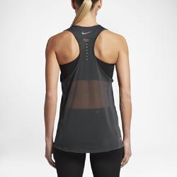 Женская беговая майка Nike Zonal Cooling RelayЖенская беговая майка Nike Zonal Cooling Relay со вставками из сетки и свободной посадкой обеспечивает легкость и прохладу во время пробежки.<br>