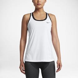 Женская беговая майка Nike MilerЖенская беговая майка Nike Miler из влагоотводящей ткани со вставками из сетки обеспечивает воздухопроницаемость и комфорт на любой пробежке.<br>