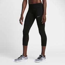 Женские укороченные тайтсы для бега Nike Epic RunЖенские укороченные тайтсы для бега Nike Epic Run с компрессионной посадкой и вставками из сетки обеспечивают воздухопроницаемость и комфорт.<br>
