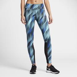 Женские беговые тайтсы с графикой Nike Power EpicЖенские беговые тайтсы с графикой Nike Power Epic из влагоотводящей ткани с сетчатыми вставками обеспечивают компрессионную посадку, воздухопроницаемость и комфорт во время пробежки.<br>