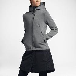 Женская куртка Nike Sportswear Tech FleeceЖенская куртка Nike Sportswear Tech Fleece — это последнее слово в функциональном городском дизайне: высокотехнологичный легкий флис для защиты от холода, облегающий крой с длиной до колена для полной свободы движений, а также универсальная отстегивающаяся нижняя кромка.<br>
