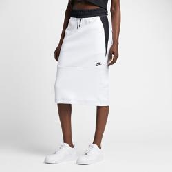 Юбка Nike Sportswear Tech FleeceЮбка Nike Sportswear Tech Fleece из мягкого высокотехнологичного флиса с современной удлиненной конструкцией дарит невесомое тепло.<br>