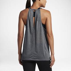 Женская беговая майка Nike BreatheЖенская беговая майка Nike Breathe из легкой дышащей ткани обеспечивает полный комфорт на любой дистанции.<br>