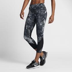 Женские укороченные тайтсы для бега с принтом Nike Epic LuxЖенские укороченные тайтсы для бега с принтом Nike Epic Lux из гладкой поддерживающей ткани Nike Power отлично подойдут для пробежек и повседневной жизни.  Плотная удобная посадка  Эластичная ткань Nike Power обеспечивает поддержку и свободу движений. Широкий завышенный пояс поддерживает мышцы корпуса во время пробежки и после нее.  Удобное хранение  Задний карман на молнии с защитой ценных мелочей от влаги. Плоский бегунок молнии не мешает при выполнении упражнений на спине. В два небольших кармана на поясе можно быстро убрать мелкие вещи.  Охлаждение и комфорт  Вставки из сетчатой ткани от колен до голени сзади повышают циркуляцию воздуха. Технология Dri-FIT отводит влагу от кожи, обеспечивая комфорт.<br>