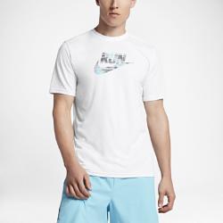 Мужская беговая футболка Nike DryМужская беговая футболка Nike Dry из мягкой влагоотводящей ткани обеспечивает вентиляцию и комфорт во время бега.<br>
