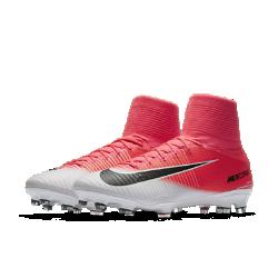 Футбольные бутсы для игры на твердом грунте Nike Mercurial Superfly VФутбольные бутсы для игры на твердом грунте Nike Mercurial Superfly V обеспечивают отличную посадку, непревзойденное касание и потрясающее сцепление, позволяя развивать максимальную скорость на полях с короткой травой.<br>
