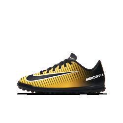 Футбольные бутсы для игры на газоне для школьников Nike Jr. MercurialX Vortex IIIФутбольные бутсы для игры на газоне для школьников Nike Jr. MercurialX Vortex III из первоклассной синтетической кожи с внутренним каркасом обеспечивают исключительное касание мяча и стабилизацию на газоне.<br>