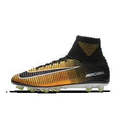 Футбольные бутсы для игры на искусственном газоне Nike Mercurial Superfly V AG-PROФутбольные бутсы для игры на искусственном газоне Nike Mercurial Superfly V AG-PRO обеспечивают отличную посадку, превосходное касание мяча и потрясающее сцепление с поверхностью, позволяя развивать максимальную скорость на полях с искусственным газоном.<br>