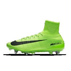 Футбольные бутсы для игры на мягком грунте Nike Mercurial Superfly V Dynamic Fit SG-PROФутбольные бутсы для игры на мягком грунте Nike Mercurial Superfly V Dynamic Fit SG-PRO обеспечивают отличную посадку, превосходное касание мяча и потрясающее сцепление с поверхностью, позволяя развивать максимальную скорость на поле.<br>