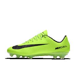 Футбольные бутсы для игры на твердом грунте Nike Mercurial Vapor XIФутбольные бутсы для игры на твердом грунте Nike Mercurial Vapor XI обеспечивают надежную посадку и потрясающее сцепление, позволяя развивать максимальную скорость на поляхс короткой травой.<br>
