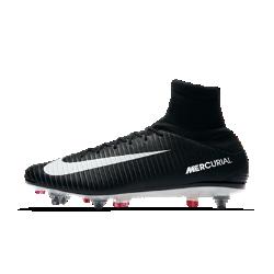 Футбольные бутсы для игры на мягком грунте Nike Mercurial Veloce III Dynamic Fit SG-PROФутбольные бутсы для игры на мягком грунте Nike Mercurial Veloce III Dynamic Fit SG-PRO обеспечивают отличную посадку, превосходное касание мяча и потрясающее сцепление с поверхностью, позволяя развивать максимальную скорость на влажных и скользких полях.<br>