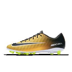 Футбольные бутсы для игры на искусственном газоне Nike Mercurial Victory VI AG-PROФутбольные бутсы для игры на искусственном газоне Nike Mercurial Victory VI AG-PRO обеспечивают отличную посадку, превосходное касание мяча и потрясающее сцепление с поверхностью, позволяя развивать максимальную скорость на полях с искусственной травой.<br>