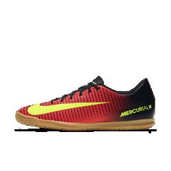 Футбольные бутсы для игры в зале/на поле Nike Mercurial Vortex III ICФутбольные бутсы для игры в зале/на поле Nike Mercurial Vortex III IC с прочной резиновой подметкой, которая обеспечивает уверенное сцепление с поверхностью на улице и в помещении. Ребристая накладка создает текстурированную поверхность для большей точности при пасах, ведении и ударах.<br>