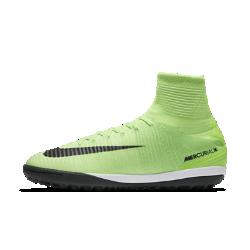 Футбольные бутсы для игры на газоне Nike MercurialX Proximo IIФутбольные бутсы для игры на газоне Nike MercurialX Proximo II обеспечивают отличную посадку, непревзойденное касание и потрясающее сцепление, позволяя развивать максимальную скорость на искусственных поверхностях.  Конструкция полностью из материала Flyknit  Инновационный материал Flyknit обеспечивает фиксацию и плотную посадку. Нити Flywire объединены со шнурками для дополнительной фиксации.  Технология Dynamic Fit  Технология Dynamic Fit в области голеностопа обеспечивает плотную посадку и комфорт.  Система Nike Grip  Система Nike Grip внутри предотвращает скольжение стопы в бутсах.<br>