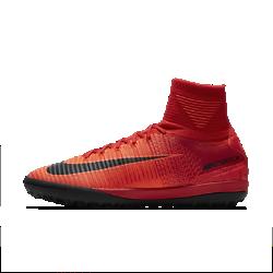 Футбольные бутсы для игры на газоне Nike MercurialX Proximo IIФутбольные бутсы для игры на газоне Nike MercurialX Proximo II обеспечивают отличную посадку, непревзойденное касание и потрясающее сцепление, позволяя развивать максимальную скорость на искусственных поверхностях.  Конструкция полностью из материала Flyknit  Инновационный материал Flyknit обеспечивает фиксацию и плотную посадку.  Технология Dynamic Fit  Технология Dynamic Fit в области голеностопа обеспечивает плотную посадку и комфорт.  Система Nike Grip  Система Nike Grip внутри предотвращает скольжение стопы в бутсах.<br>