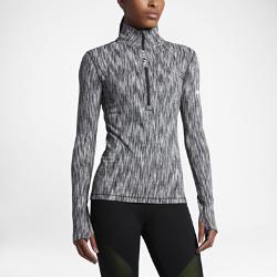 Женская футболка для тренинга с длинным рукавом Nike Pro HyperWarmЖенская футболка для тренинга с длинным рукавом Nike Pro HyperWarm обеспечивает комфорт и тепло во время тренировок благодаря влагоотводящей термоткани.<br>