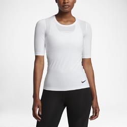 Женская футболка для тренинга с коротким рукавом Nike Pro HyperCoolЖенская футболка для тренинга с коротким рукавом Nike Pro HyperCool из эластичной дышащей ткани обеспечивает охлаждение и комфорт во время тренировки.<br>