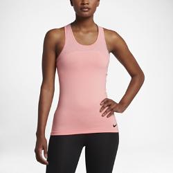 Женская майка Nike Pro HyperCoolЖенская майка Nike Pro HyperCool из специальной ткани со вставками из сетки обеспечивает воздухопроницаемость и комфорт.<br>