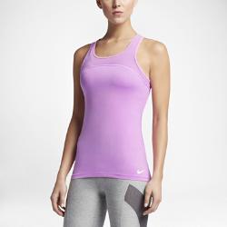 Женская майка для тренинга Nike Pro HyperCoolЖенская майка для тренинга Nike Pro HyperCool из дышащей сетки и эластичной ткани обеспечивает вентиляцию и комфорт во время тренировки.<br>
