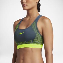 Спортивное бра со средней поддержкой Nike Hyper Classic PaddedСпортивное бра со средней поддержкой Nike Hyper Classic Padded из влагоотводящей ткани с компрессионной посадкой обеспечивает длительный комфорт во время тренировки.<br>