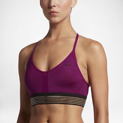Спортивное бра с легкой поддержкой Nike Indy CoolingСпортивное бра с легкой поддержкой Nike Indy Cooling из влагоотводящей ткани с низким профилем и тонкими регулируемыми бретелями обеспечивает удобную посадку и легкую поддержку во время занятий с низкой нагрузкой.<br>