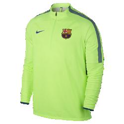 Мужская игровая футболка Nike Shield Strike Drill FC BarcelonaМужская игровая футболка Nike Shield Strike Drill FC Barcelona из эластичной ткани обеспечивает защиту от влаги и динамическую посадку в любую погоду.<br>