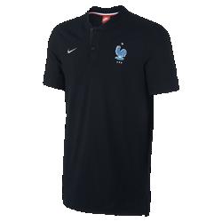 Мужская рубашка-поло FFF Modern Authentic Grand SlamМужская рубашка-поло FFF Modern Authentic Grand Slam с тканой символикой команды выполнена из мягкой смесовой ткани на основе хлопка.<br>