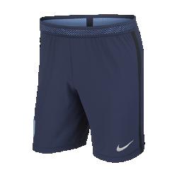Мужские футбольные шорты 2017 England Vapor Match AwayМужские футбольные шорты 2017 England Vapor Match Away из легкой ткани с зональной вентиляцией и символикой клуба создают ощущение прохлады и комфорта.<br>
