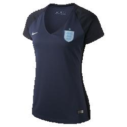 Женское футбольное джерси 2017 England Stadium AwayЖенское футбольное джерси 2017 England Stadium Away из легкой ткани обеспечивает комфорт на каждый день.<br>