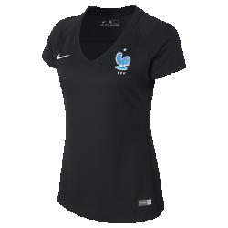 Женское футбольное джерси 2017 FFF StadiumЖенское футбольное джерси 2017 FFF Stadium из легкой ткани обеспечивает комфорт на каждый день.<br>