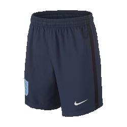 Футбольные шорты для школьников 2017 England Stadium AwayФутбольные шорты для школьников 2017 England Stadium Away из дышащей влагоотводящей ткани с эластичными вставками из сетки обеспечивают длительный комфорт и естественную свободу движений.<br>
