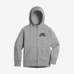 Худи для мальчиков школьного возраста Nike SB IconХуди для мальчиков школьного возраста Nike SB Icon из мягкой флисовой ткани с обратным начесом обеспечивает тепло, комфорт и защиту в прохладные дни.<br>