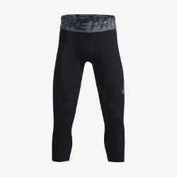 Тайтсы для мальчиков школьного возраста Nike Pro HyperCoolТайтсы для мальчиков школьного возраста Nike Pro HyperCool из эластичной ткани с сетчатыми вставками обеспечивают вентиляцию и комфорт во время тренировок и игр.<br>