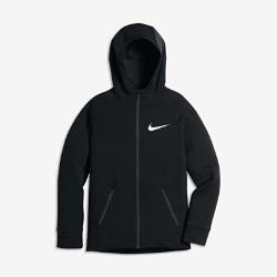 Худи для тренинга для мальчиков школьного возраста Nike DryХуди для тренинга для мальчиков школьного возраста Nike Dry из легкой влагоотводящей ткани обеспечивает комфорт во время бега.<br>