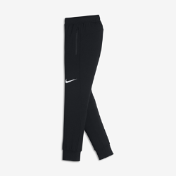 Брюки для тренинга для мальчиков школьного возраста Nike DryБрюки для тренинга для мальчиков школьного возраста Nike Dry из мягкой влагоотводящей ткани с зауженным кроем обеспечивают вентиляцию и комфорт во время тренировок.<br>