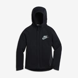 Худи для мальчиков школьного возраста Nike Sportswear Tech FleeceХуди для мальчиков школьного возраста Nike Sportswear Tech Fleece из легкой ткани удерживает тепло, обеспечивая комфорт без дополнительных слоев.<br>