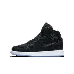 Кроссовки для школьников Air Jordan 1 Retro High Premium HeiressКроссовки для школьников Air Jordan 1 Retro High Premium Heiress — новая версия оригинальной модели с верхом из парусины и высококачественной кожи.<br>