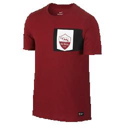 Мужская игровая футболка A.S. Roma CrestМужская игровая футболка A.S. Roma Crest с клубной символикой на мягкой хлопковой ткани отдает дань уважения любимой команде и обеспечивает длительный комфорт.<br>