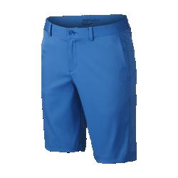 Шорты для гольфа для мальчиков школьного возраста Nike Flat FrontШорты для гольфа для мальчиков школьного возраста Nike Flat Front из эластичной влагоотводящей ткани обеспечивают комфорт и свободу движений во время игры.<br>