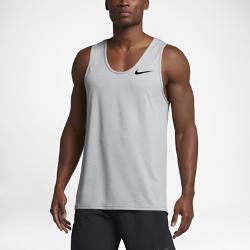 Мужская майка для тренинга Nike BreatheМужская майка для тренинга Nike Breathe из дышащей влагоотводящей ткани с конструкцией без рукавов обеспечивает вентиляцию, комфорт и свободу движений на каждой тренировке.<br>