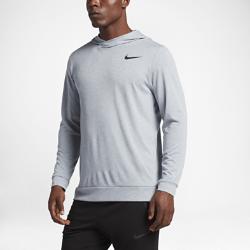 Мужская худи для тренинга Nike BreatheМужская худи для тренинга Nike Breathe из влагоотводящей ткани с эргономичной конструкцией обеспечивает свободу движений и длительный комфорт во время тренировки.<br>