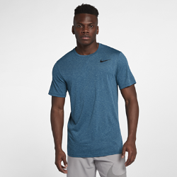 Мужская футболка для тренинга с коротким рукавом Nike BreatheМужская футболка для тренинга с коротким рукавом Nike Breathe обеспечивает вентиляцию и свободу движений, позволяя сохранять полную концентрацию и комфорт на протяжении всей тренировки.  Воздухопроницаемость  Ткань Nike Breathe обеспечивает вентиляцию и комфорт во время тренировки благодаря невероятной воздухопроницаемости и отводящей влагу технологии Dri-FIT.  Мягкость  Ткань футболки разработана для невероятной мягкости и комфорта.  Свобода движений  Прилегающий крой обеспечивает абсолютную свободу движений для кардиотренировок, занятий тяжелой атлетикой и других типов тренинга.<br>
