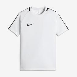 Игровая футболка для школьников Nike Dry AcademyИгровая футболка для школьников Nike Dry Academy обеспечивает комфорт и свободу движений во время матча.<br>
