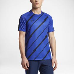 Мужская игровая футболка с коротким рукавом Nike Dry SquadМужская игровая футболка с коротким рукавом Nike Dry Squad обеспечивает комфорт и свободу движений во время игры.<br>