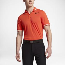 Мужская рубашка-поло для гольфа с облегающим кроем Nike Dry TippedМужская рубашка-поло для гольфа с облегающим кроем Nike Dry Tipped из дышащей влагоотводящей ткани со вставкой из сетки для абсолютного комфорта во время игры.<br>