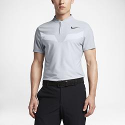 Мужская рубашка-поло для гольфа с облегающим кроем Nike Zonal CoolingМужская рубашка-поло для гольфа с облегающим кроем Nike Zonal Cooling из эластичной влагоотводящей ткани обеспечивает охлаждение, легкость и комфорт.  Оптимальное охлаждение  Вставки из трикотажной ткани с высокой степенью воздухопроницаемости на груди и на спине сверху усиливают вентиляцию, обеспечивая комфорт.  Свобода движений  Легкая ткань с оптимальным коэффициентом эластичности для свободы движений во время свинга.  Современный дизайн  Воротник-стойка не натирает кожу и обеспечивает комфорт.<br>