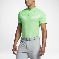 Мужская рубашка-поло для гольфа с облегающим кроем Nike Zonal CoolingМужская рубашка-поло для гольфа с облегающим кроем Nike Zonal Cooling из эластичной влагоотводящей ткани обеспечивает охлаждение, легкость и комфорт.<br>