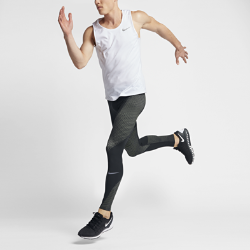 Мужские беговые тайтсы Nike Zonal StrengthМужские беговые тайтсы Nike Zonal Strength из эластичной ткани обеспечивают поддержку ключевых мышц ног для новых рекордов в беге.<br>