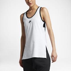 Женская майка Nike InternationalЖенская майка Nike International из чистого хлопка украшена современными деталями и обеспечивает комфорт на весь день, позволяя создать стильный образ.<br>